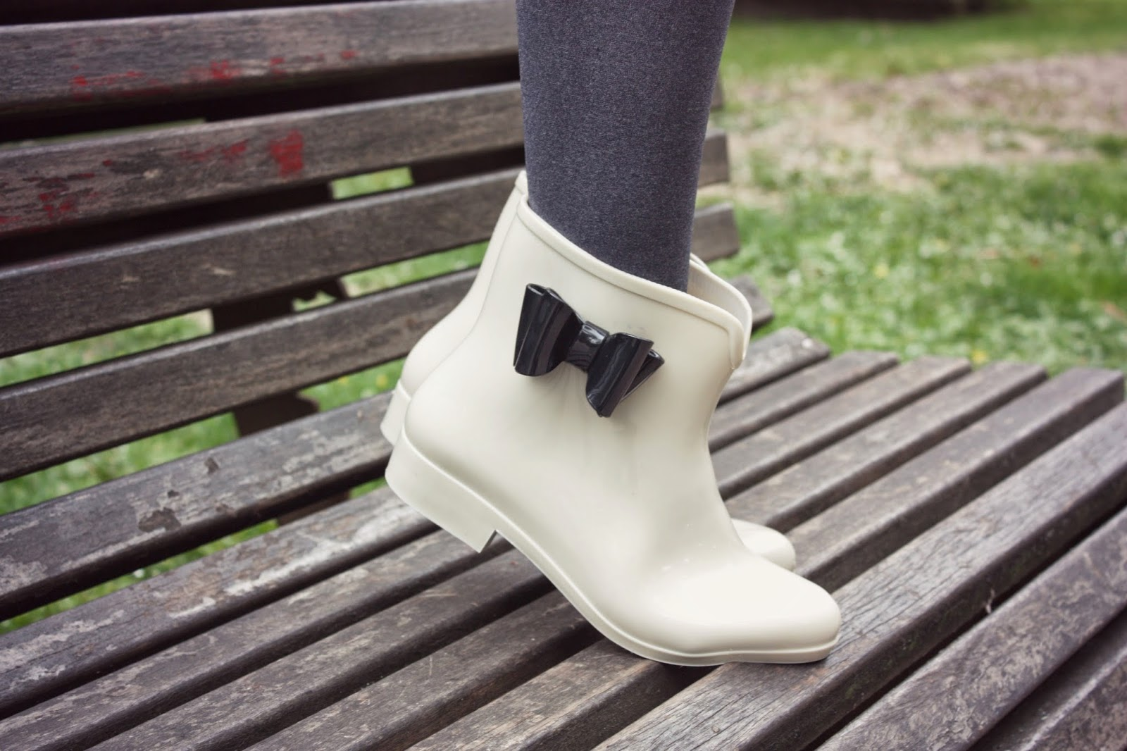 botas de agua con lacito, botas de agua cuquis