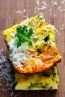 Petites recettes fromagères Tome 4 et fin… Frittata au Granino et aux herbes