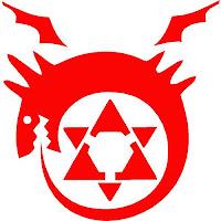 Símbolo dos Homúnculos Ouroboros