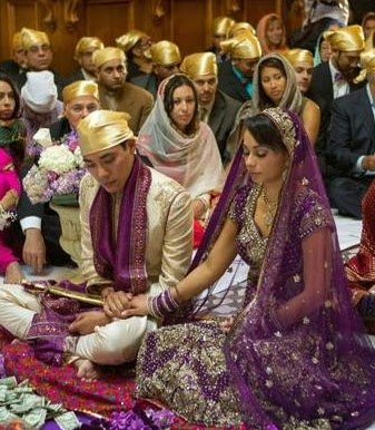 Interfaith Sikh Wedding Ceremony