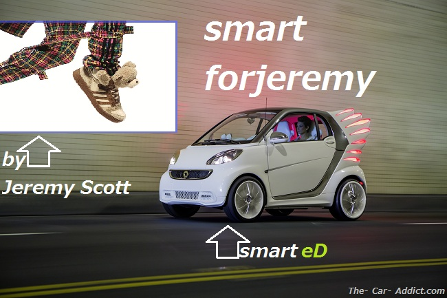 smart forjeremy by Jeremy Scott and smart