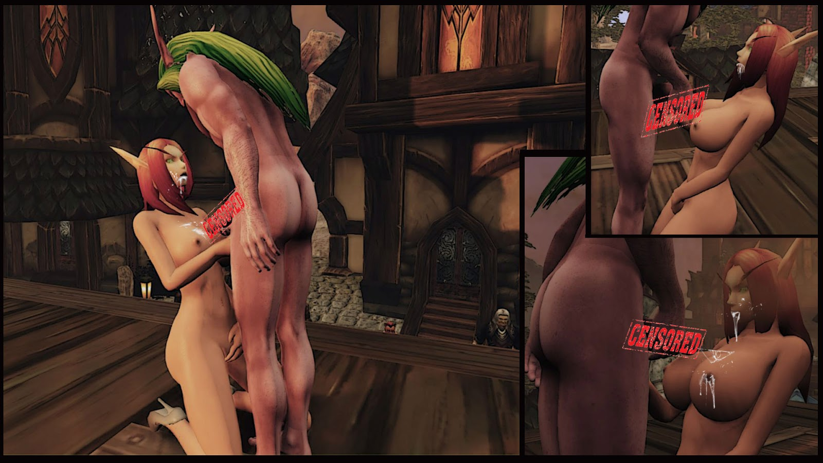 Elf sex toon game hentai toons