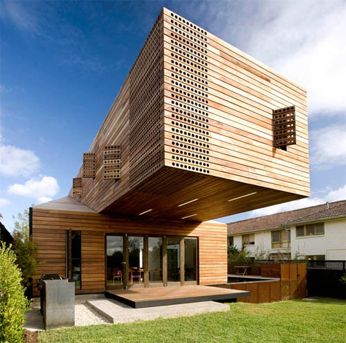 Wooden House Architecture Design