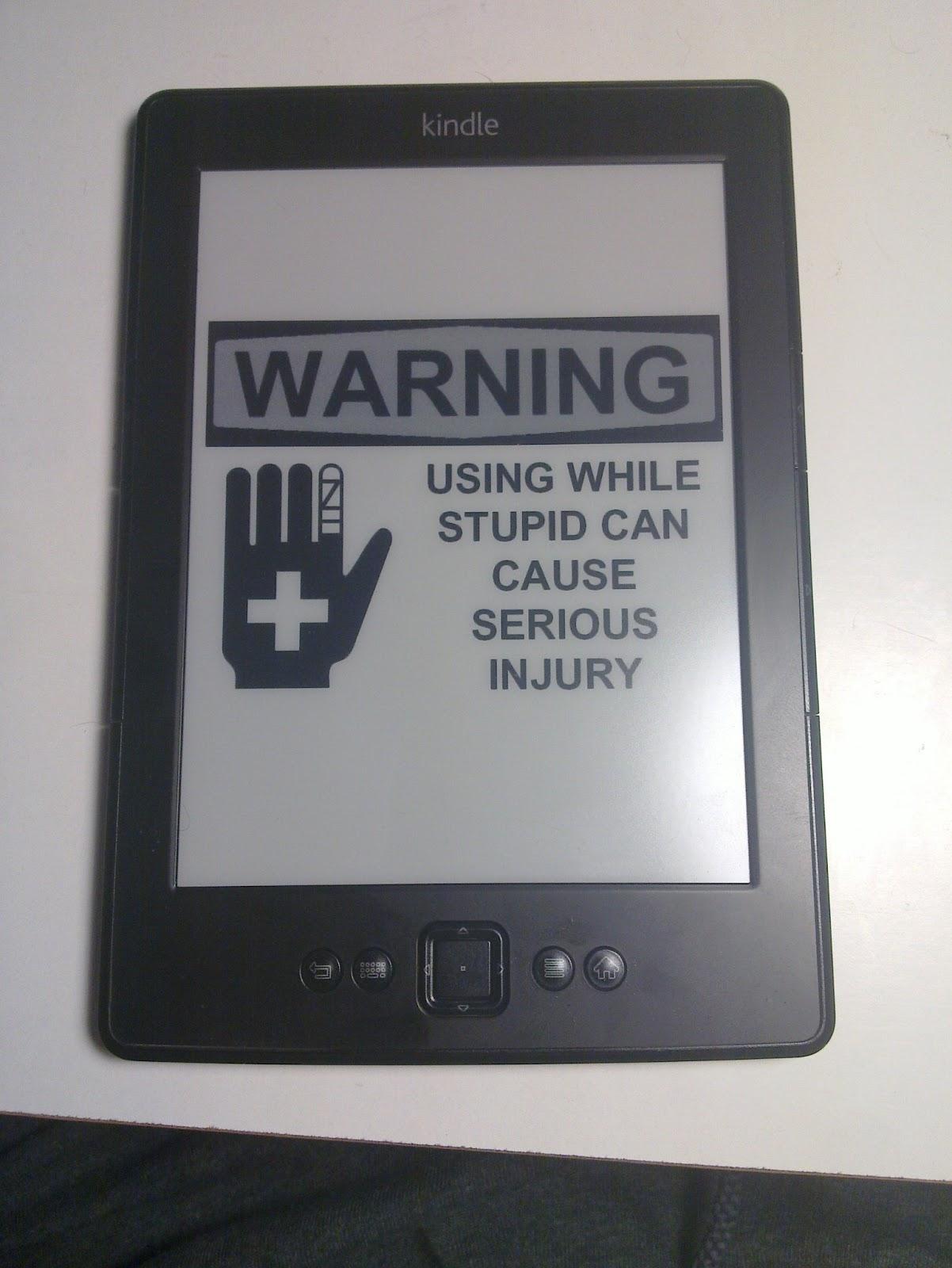 Kindle Custom Screensaver