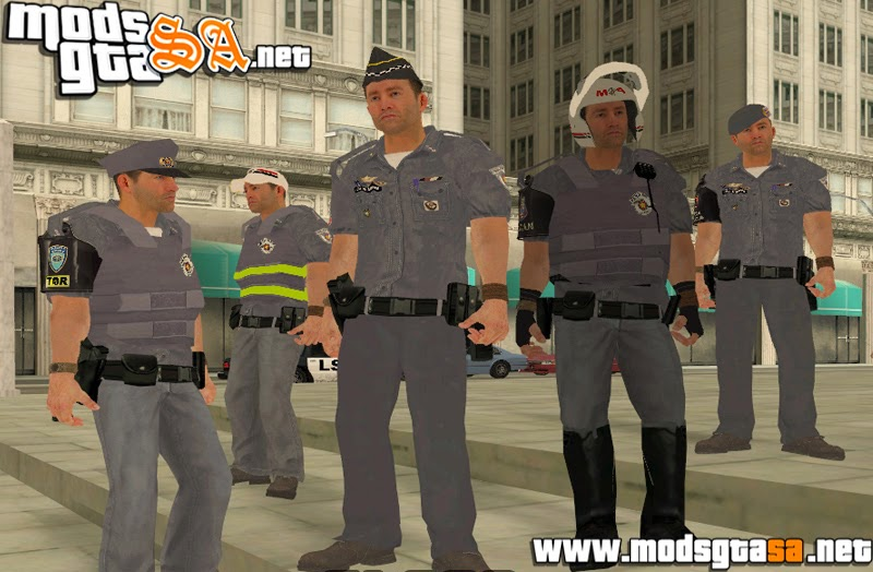 SA - Pack de Skins Policiais PMESP 2014