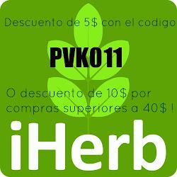 CODIGO DESCUENTO IHERB PVK011