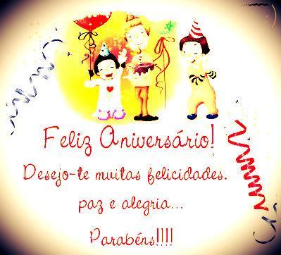 Feliz Aniversário! Parabéns!!!