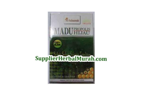 Madu Propolis Hijau (Madu + Propolis + Spirulina + Gamat)