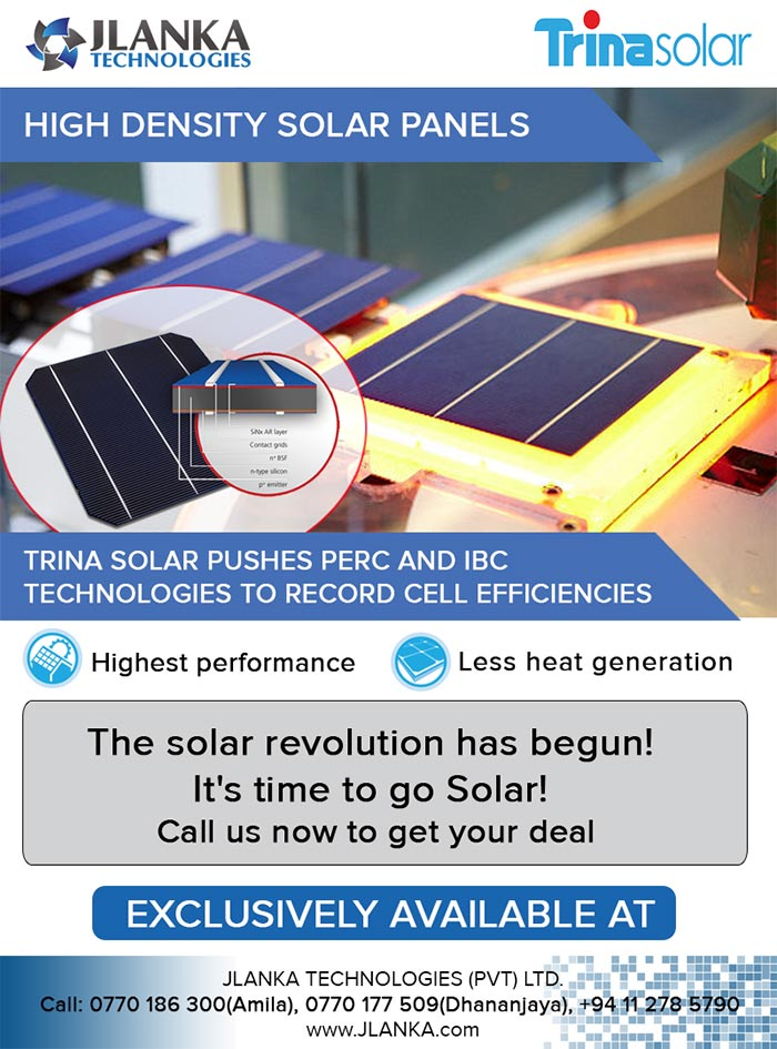 JLanka Technologies is the #1 solar provider in Sri Lanka with most number of solar installations generated over 3MW electricity. Our in-house team and installers will take care of your entire project from start to finish. We focus on our core business so you can focus on your community. JLanka team will take care of everything from site inspection, system design and the installation of your Solar PV system. All you have to do is watch it come together. The simple steps of your life time investment is as follows. Protect yourself from unpredictable rate hikes. Utility costs tend to rise ever year, but JLanka lets you lock in low, predictable solar energy rates that are guaranteed for years to come. Our Consultant will tell you how much you can save.