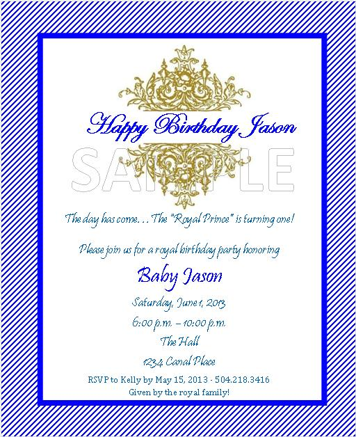 event design by kelly royal prince theme birthday invitations