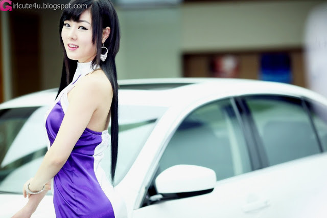 3 Hwang Mi Hee - Infiniti G Racing Limited Edition-very cute asian girl-girlcute4u.blogspot.com