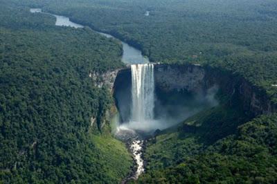 Guyana turismo cataratas