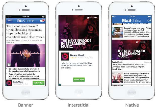 Facebook's Audience Network