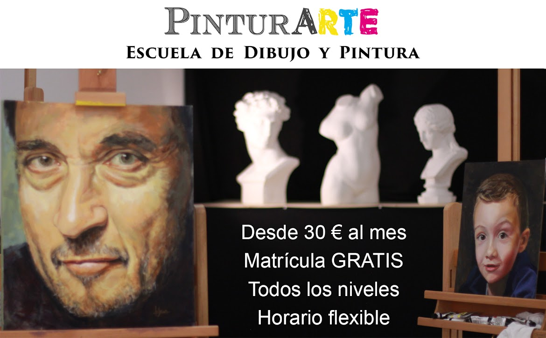 Escuela de dibujo y pintura PinturARTE Barrio del Pilar Madrid