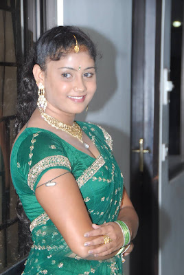amrutha valli in saree glamour  images