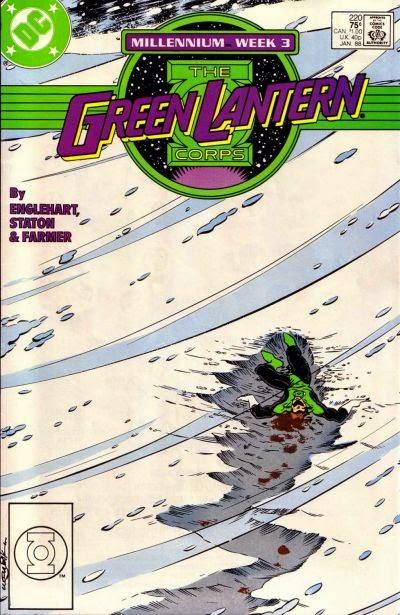 Portada de Green Lantern Corps #220