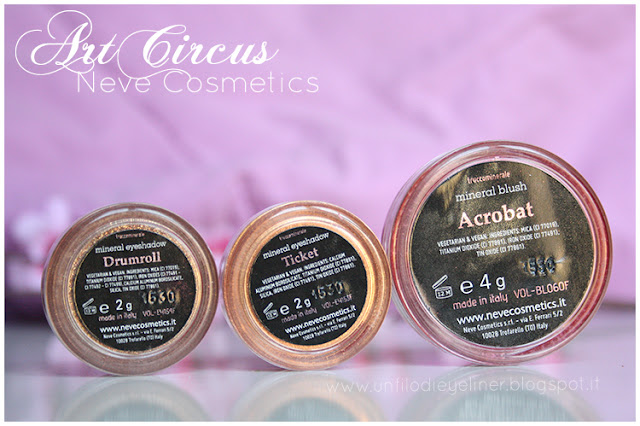 Art Circus - Neve Cosmetics: Preview & Swatch