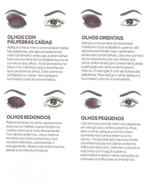Como Maquilhar os Olhos de acordo com o Tamanho e Formato