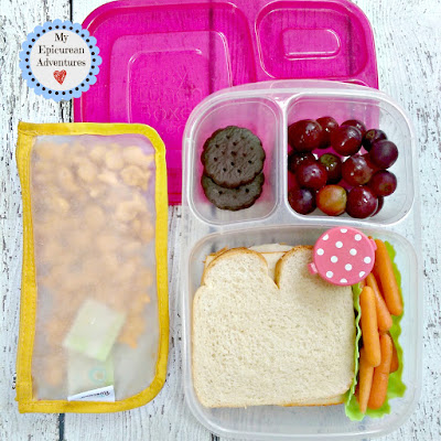 My Epicurean Adventures: Lunch Box Fun 2015-16: Week #4. Lunch box ideas, school lunch ideas, lunches