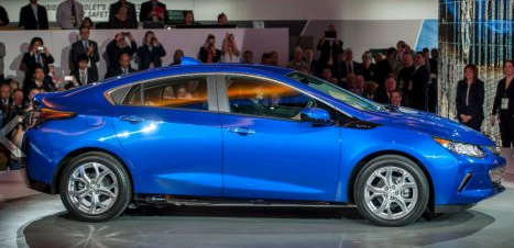 The 2016 Volt Gives Drivers 53 Miles of EV Range