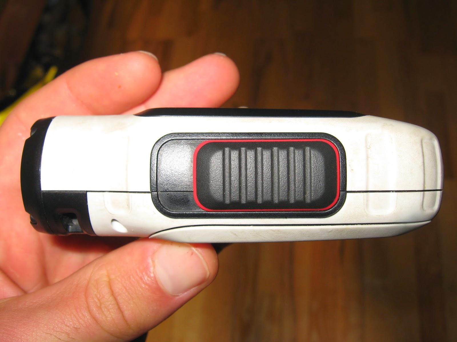 Garmin Virb Elite test kamery, przyciski