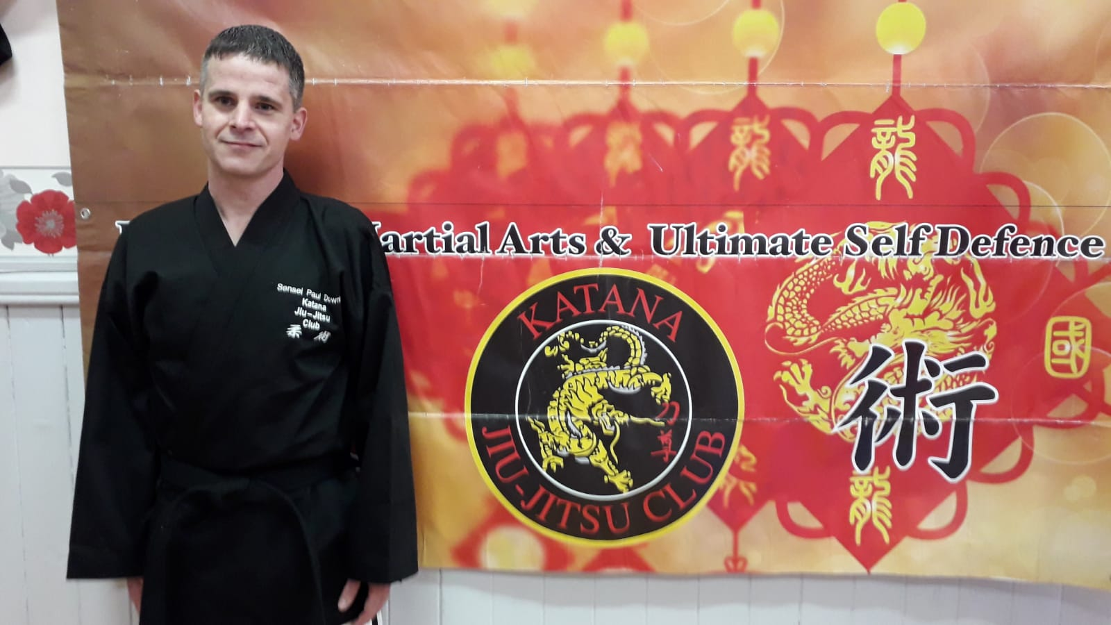 Sensei Paul Downing