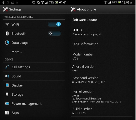 Sony Xperia U Firmware Download Official