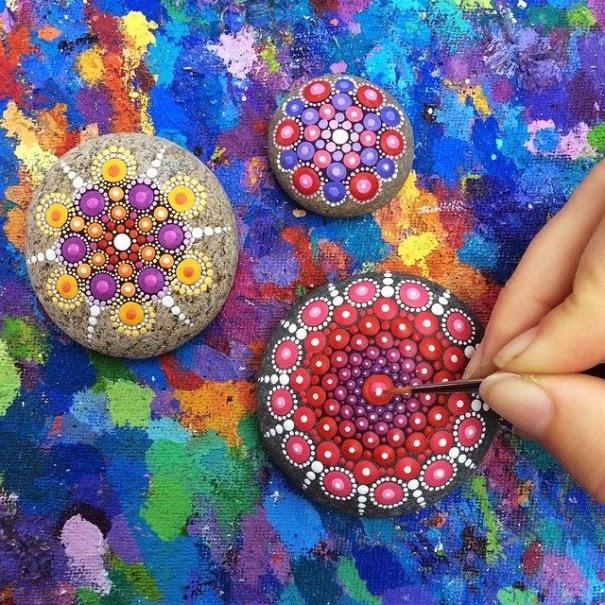 colorful ocean stones Elspeth McLean-7