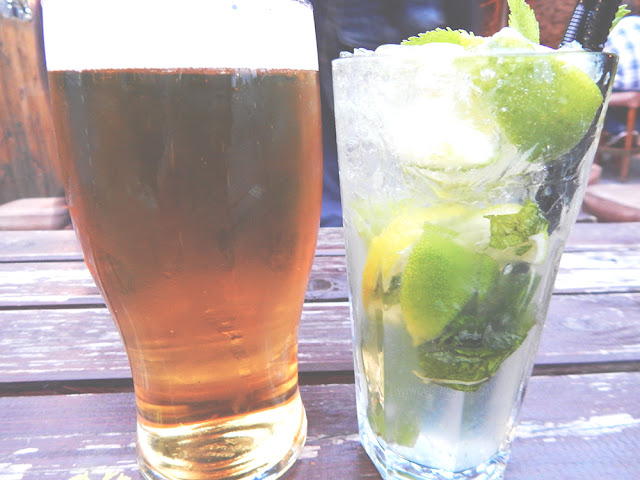 Deep south beer and mojito