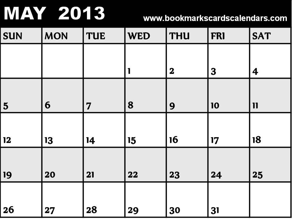 free fill in calendars