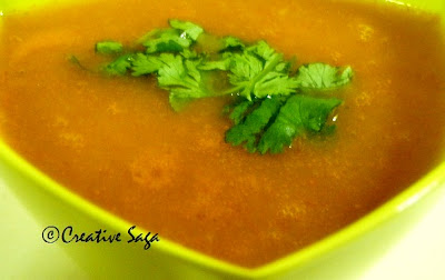 pumpkin soup/shorba