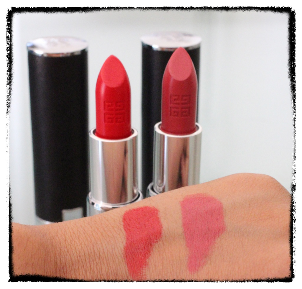 The Lips Givenchy Le Rouge Couleur Intense Lipsticks