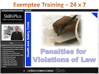 Exemptee Training Course