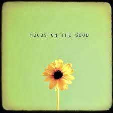 ¡Enfócate en lo bueno y positivo!