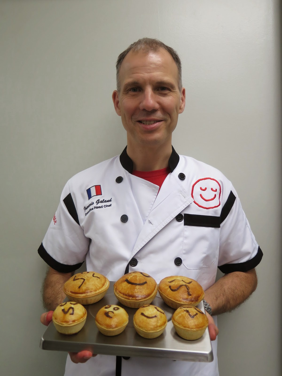 Pie Face Chef Francois Galland