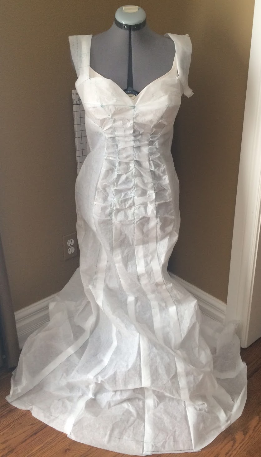 Madame Sew-and-Sew: Experiments in Sewing - The Paper Gown