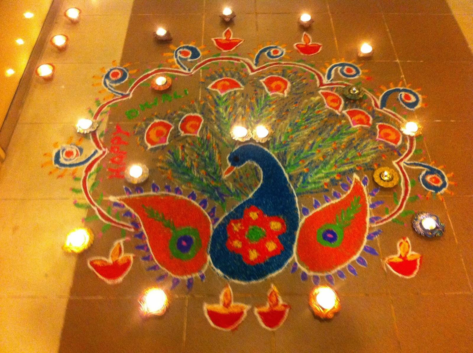 Diwali Rangoli Pictures