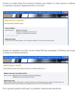 Instalación SAP IDES 4.7