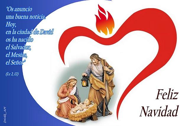 Tarjetas de navidad para saludar por facebook