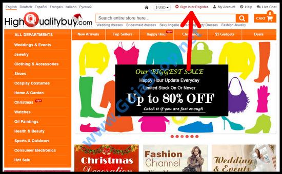 tutorial comprar no site chinês HighQualityBuy