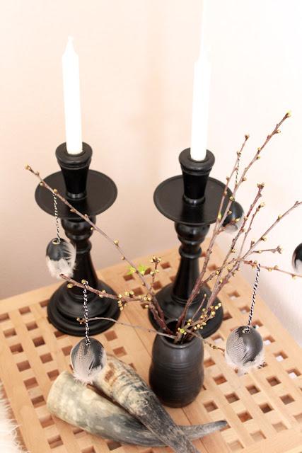 Amalie loves Denmark Osterdekoration und neue Kerzenständer