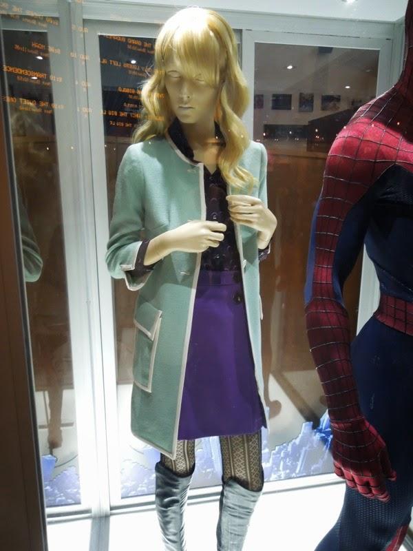 Emma Stone Gwen Stacy Amazing Spider-man 2 costume