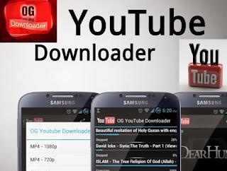 تطبيق OG Youtube لتحميل وتشغيل فيديوهات اليوتيوب بدون توقف رغم خروج منه