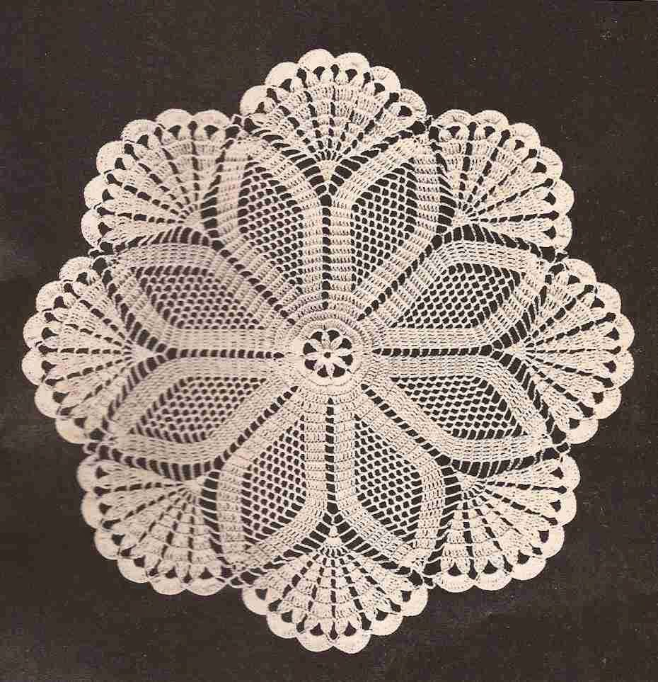 patr n 243 centro de mesa estrella a crochet ctejidas