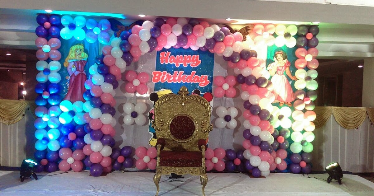 Balloon decorations hyd birthday party decorators in for Balloon decoration in hyderabad