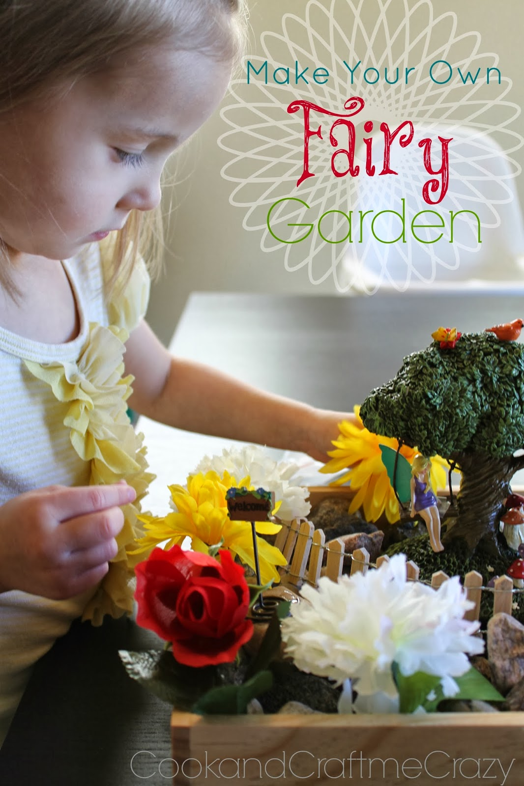 Cook and Craft Me Crazy Make your own Fairy Garden