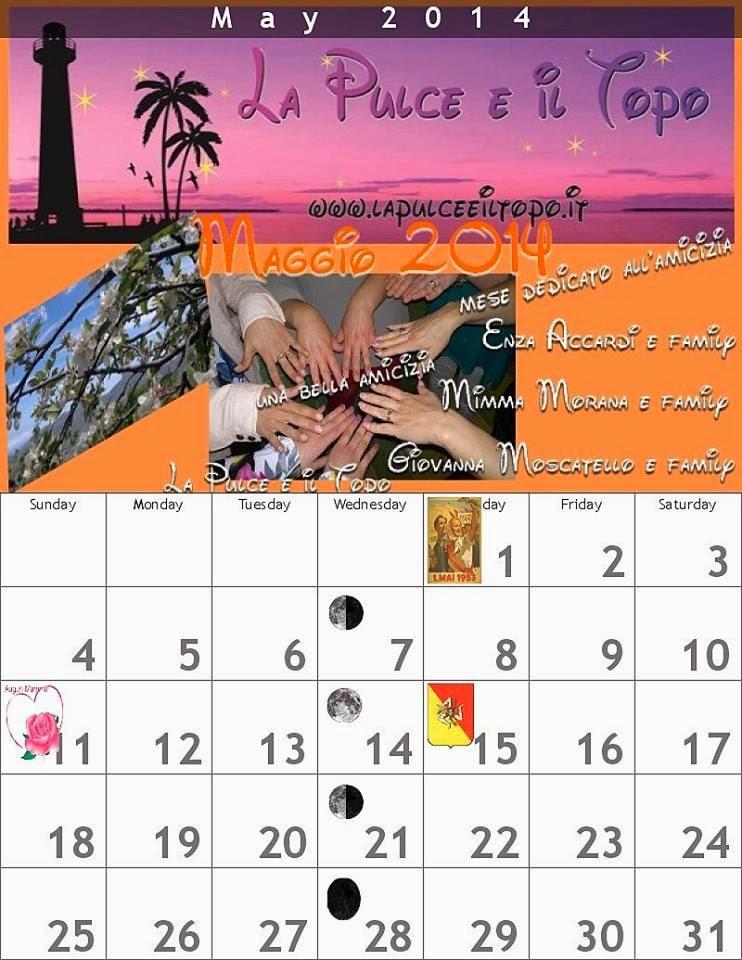 1° maggio , festa del lavoro (che spesso non c'è piu') e festa dell'amicizia (la nostra) sincera e allegra!!!!!