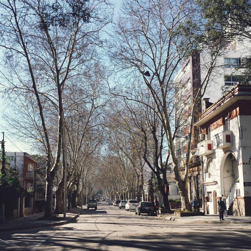 Montevideo no inverno