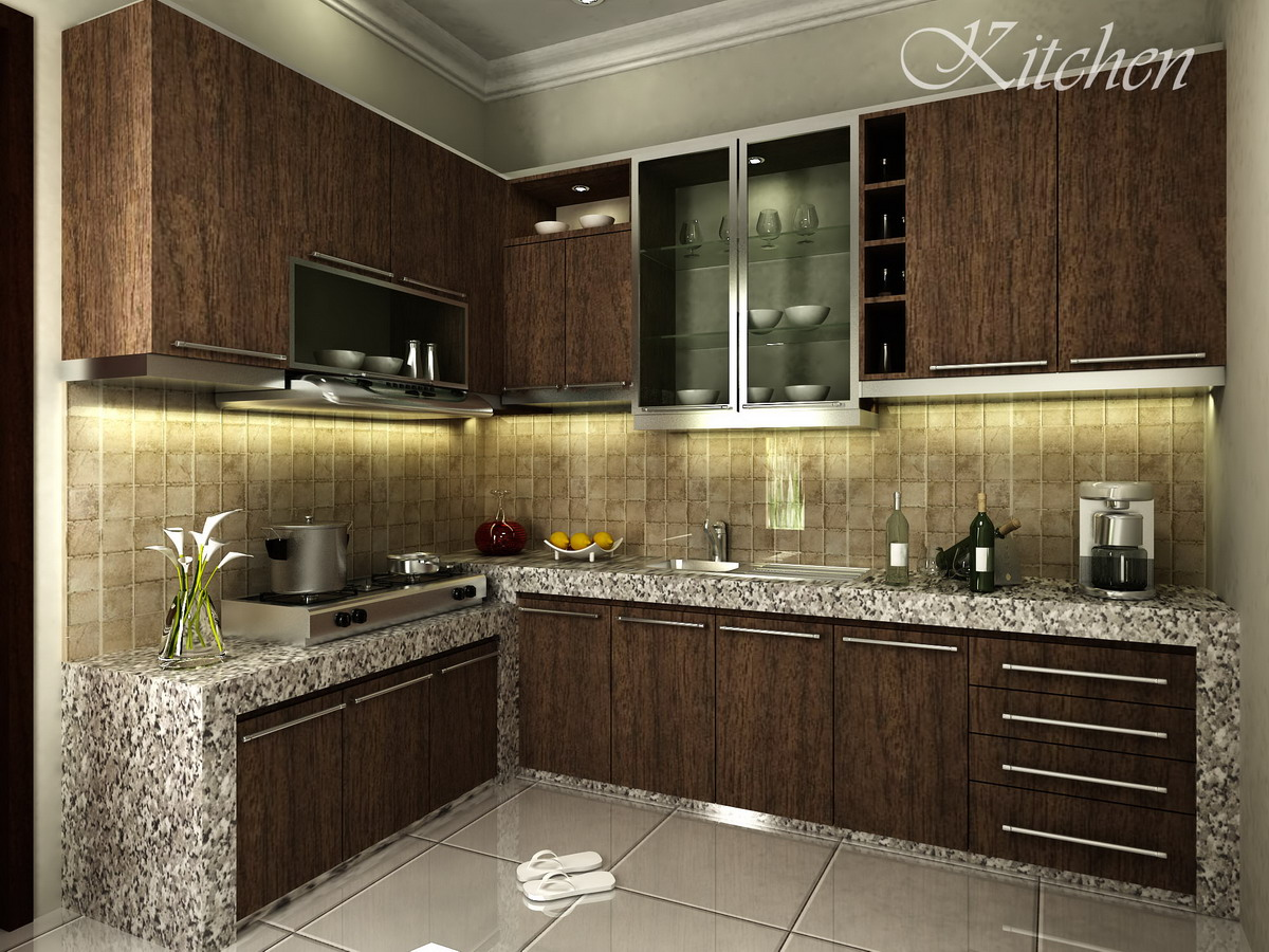 contemporary kitchen cabinets on Ide Desain Dapur Minimalis Modern | Tips dan Artikel Indonesia