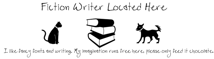 Fiction Writer Located Here